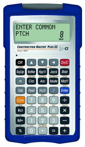 Calculated Industries 4067 Construction Master Plus EZ Construction Math Prompting Calculator