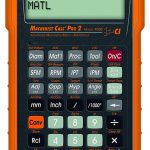 Calculated-Industries-4088-Machinist-Calc-Pro-2-Advanced-Machining-Math-with-Materials