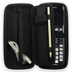Calculator Case BOOCOSA Hard Travel Bag for TI-84 Plus CE Calculator