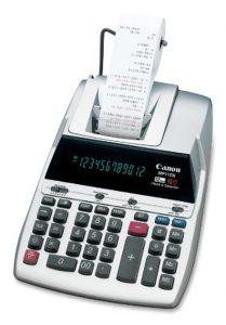 Canon MP11DX Printing Calculator