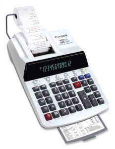 Canon MP27D Standard Function Printing Calculator