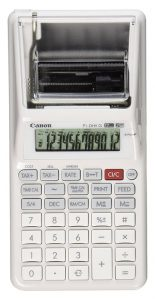 Canon P1-DHV G Palm Printing Calculator