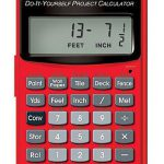 Craftsman-Do-It-Yourself-Project-Calculator