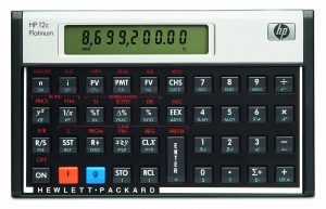 HP 12c Platinum Financial Calculator