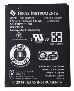 Rechargeable Battery for TI Nspire CX CX-CAS