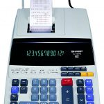 Sharp-EL-1197PIII-Heavy-Duty-Color-Printing-Calculator-with-Clock-and-Calendar