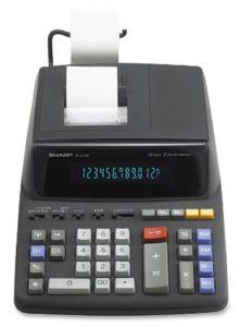 Sharp EL-2196BL Printing Calculator