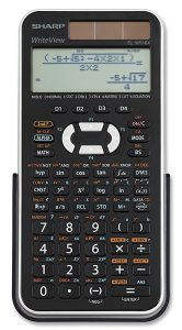 Sharp EL-W516XBSL 556 Scientific Calculator