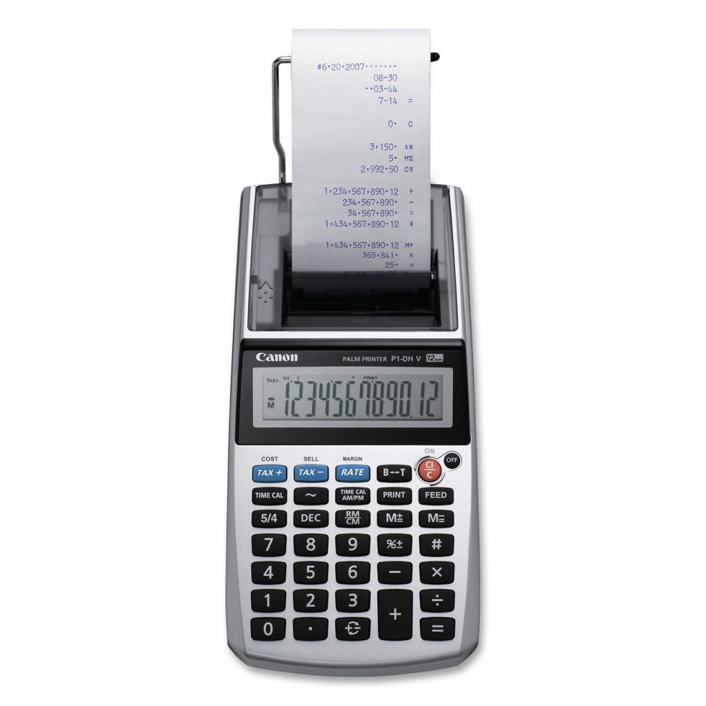 Canon P1 DHV Printing Calculator