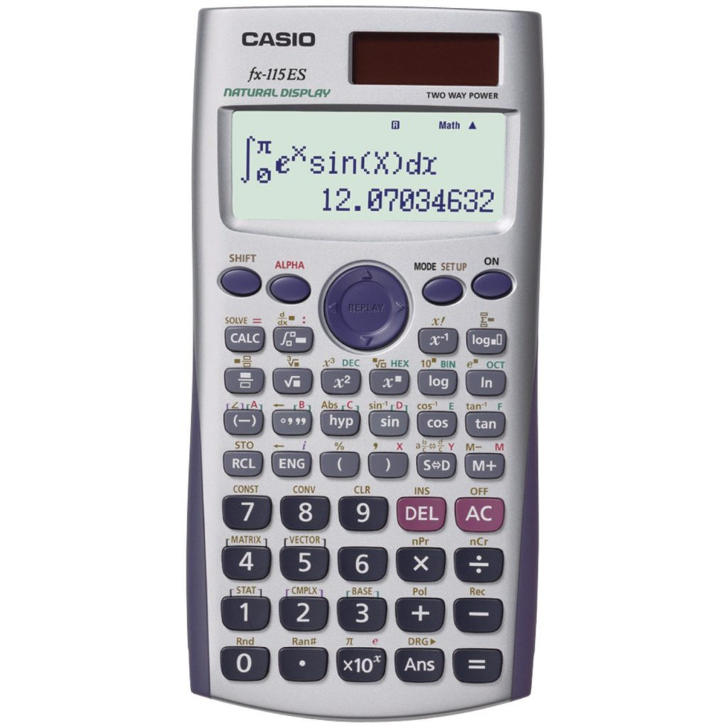 Casio FX-115ES Advanced Scientific Calculator with 2-Line Natural Textbook Display