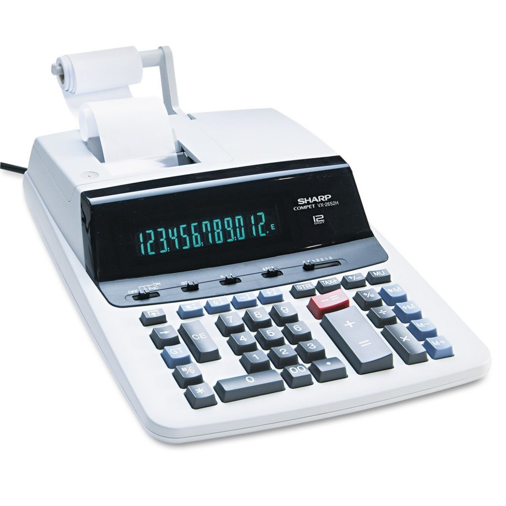 Sharp VX-2652H Commercial-Use Printing Calculator