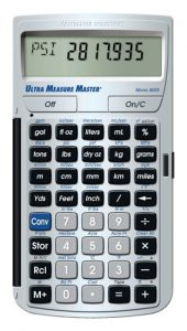 Calculated Industries 8025 Ultra Measure Master Measurement Conversion Calculator