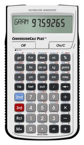 Calculated Industries 8030 ConversionCalc Plus Conversion Calculator
