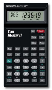 Calculated Industries 9130 TimeMaster II
