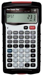 Calculated Industries Pipe Trades Pro 4095 Calculator