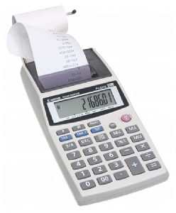 Canon P1-DHII Handheld Portable Printing Calculator