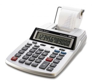 Canon P23 DH-V Desktop Printing Calculator