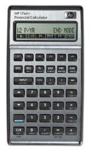 HP 17BII+ Financial Calculator