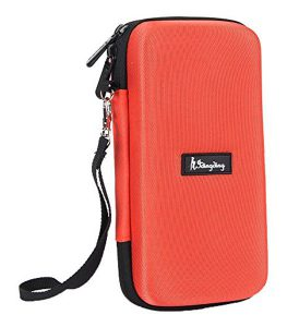 Idingding EVA Hard Case Shockproof Travel Carry Storage Bag for Graphing Calculator TI-Nspire CX CAS