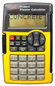 Sentry-Contractor-Calculator-with-Cover-Black-and-Yellow-CA600