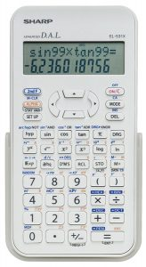 Sharp El-531XBDW Scientific Calculator