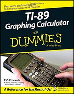 TI-89-Graphing-Calculator-For-Dummies