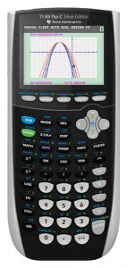 Texas Instruments TI-84 PlusC Silver Graphing Calculator
