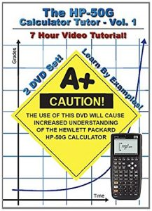 The HP 50g Calculator Tutor